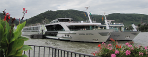 River Boats on the Rhine River