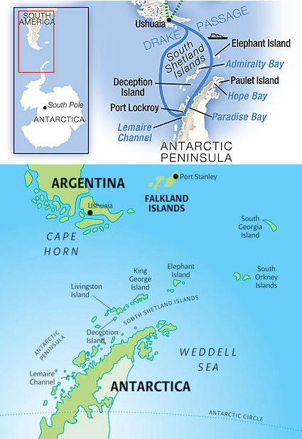 Will we reach the Antarctic Circle? - Antarctica - Travel Forums Home