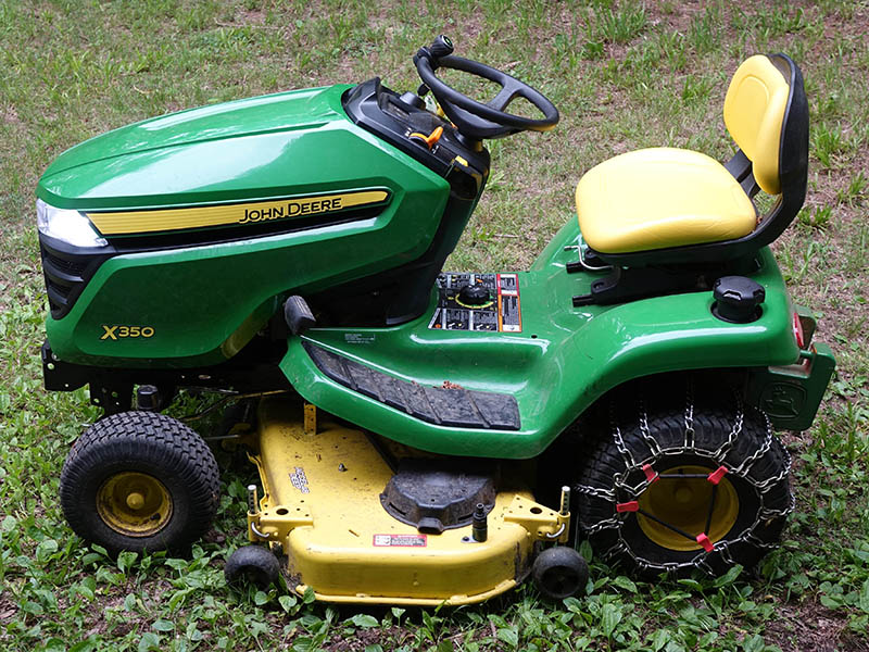 Now my Deere can see and be seen Mower Deck John Deere X Wiring Diagram on